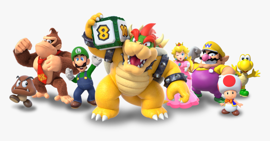 Group Super Mario Party Switch All Characters Hd Png