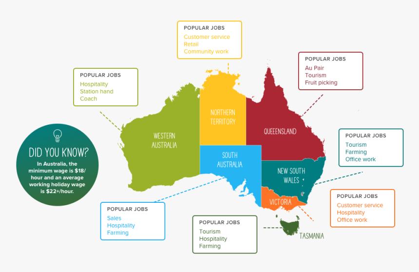 Australia Fertility Rate Map, HD Png Download , Transparent ...