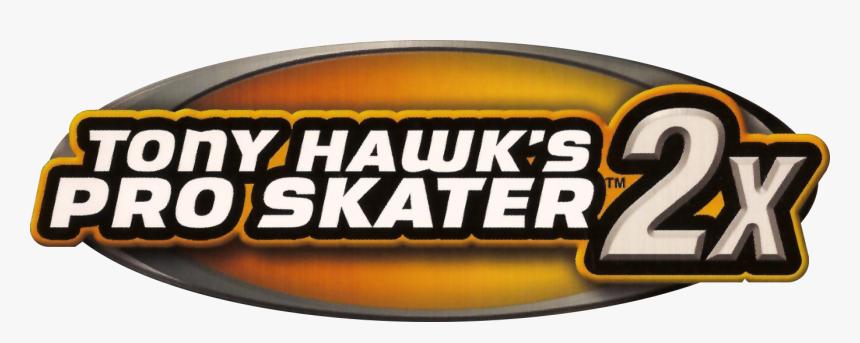 Tony Hawk S Pro Skater 2x Logo Tony Hawk Pro Skater 3 Hd Png Download Transparent Png Image Pngitem