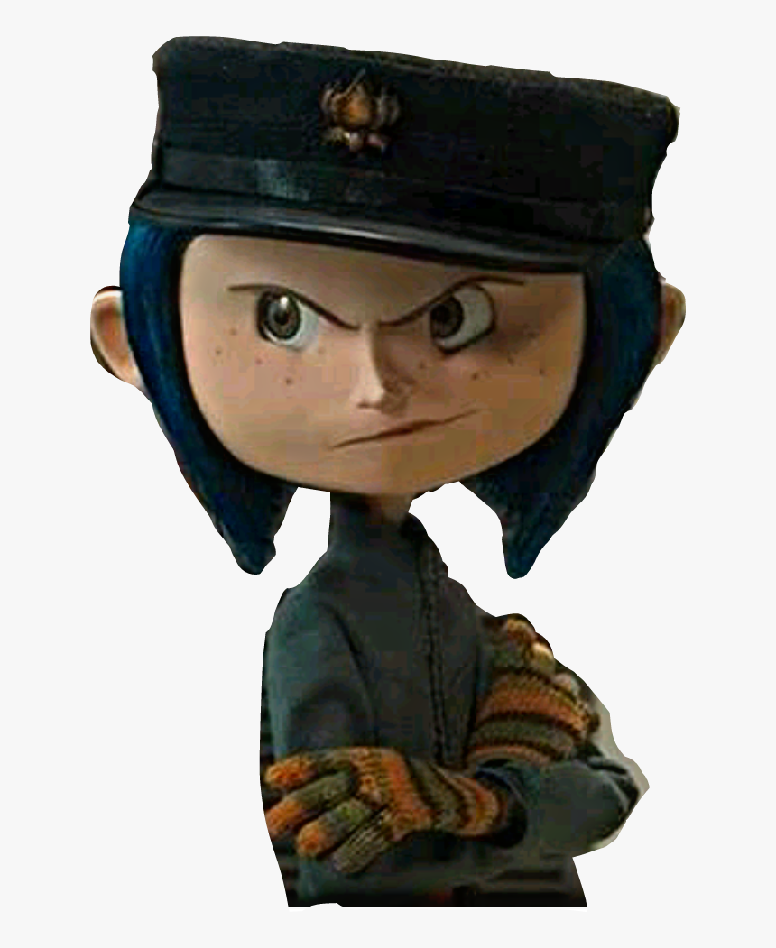 Coraline Coraline With Her Hat Hd Png Download Transparent Png Image Pngitem