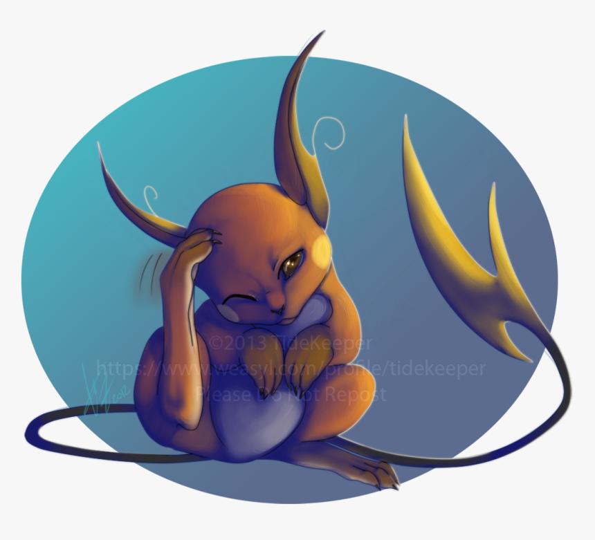 Transparent Raichu Png Pokemon Fan Art Pikachu Raichu Png