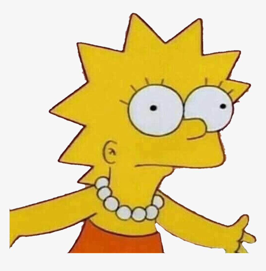 Meme Memes Simpsons Simpson Simpsonswave Simpsonsfamily Lisa Simpson Fight Me Meme Hd Png Download Transparent Png Image Pngitem
