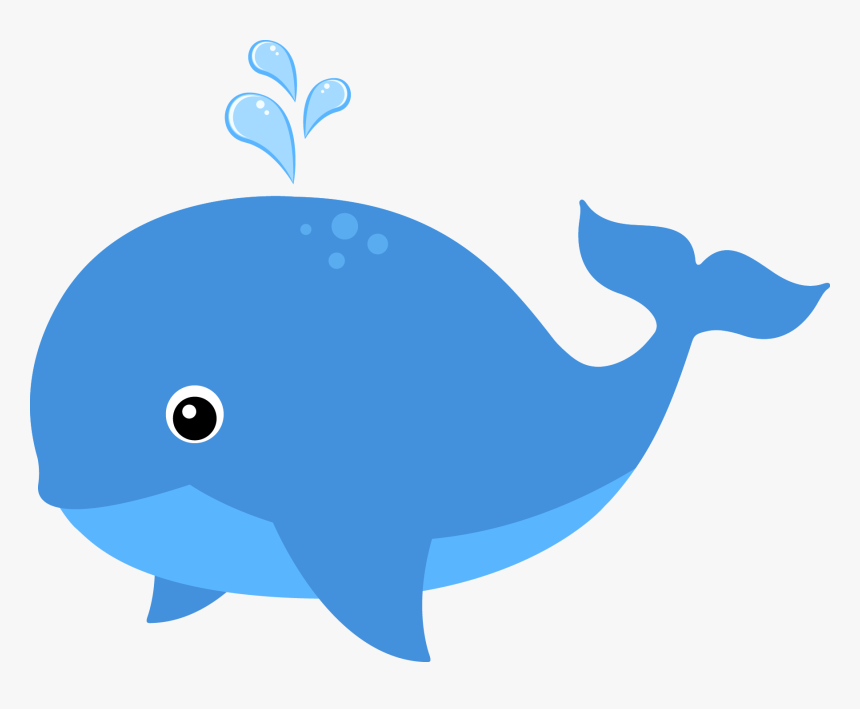 Clipart Family Whale - Cute Blue Whale Clipart, HD Png Download ...