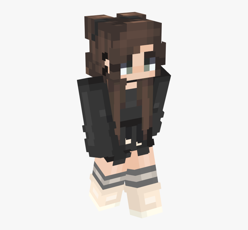 Aesthetic Girl Minecraft Skin Hd Png Download Transparent Png