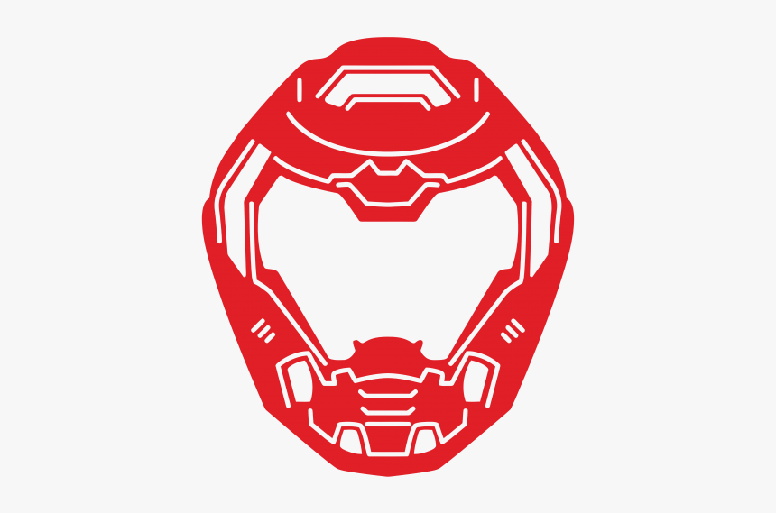 Doom Slayer Helmet Logo Hd Png Download Transparent Png Image