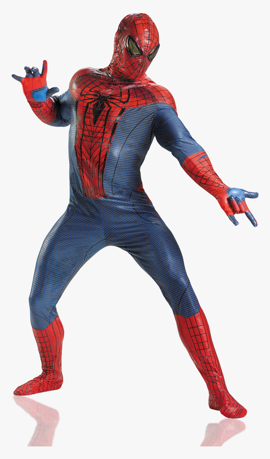 Entertainment The Amazing Spider Man 2012 Marvel Entertainment Spider Man Real Costume Hd Png Download Transparent Png Image Pngitem