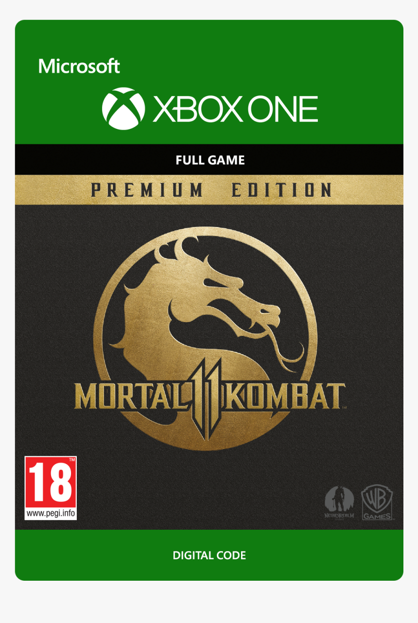 Imported Dwnld52365 Large Mortal Kombat 11 Premium Edition Xbox