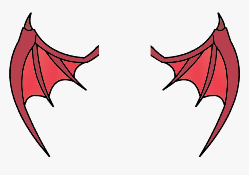 Transparent Devil Wings Png Simple Devil Wing Drawing Png
