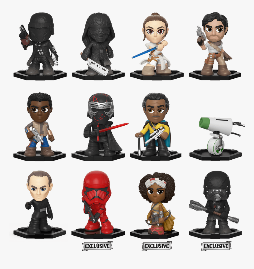 Star Wars The Rise Of Skywalker Funko Pop Hd Png Download Transparent Png Image Pngitem
