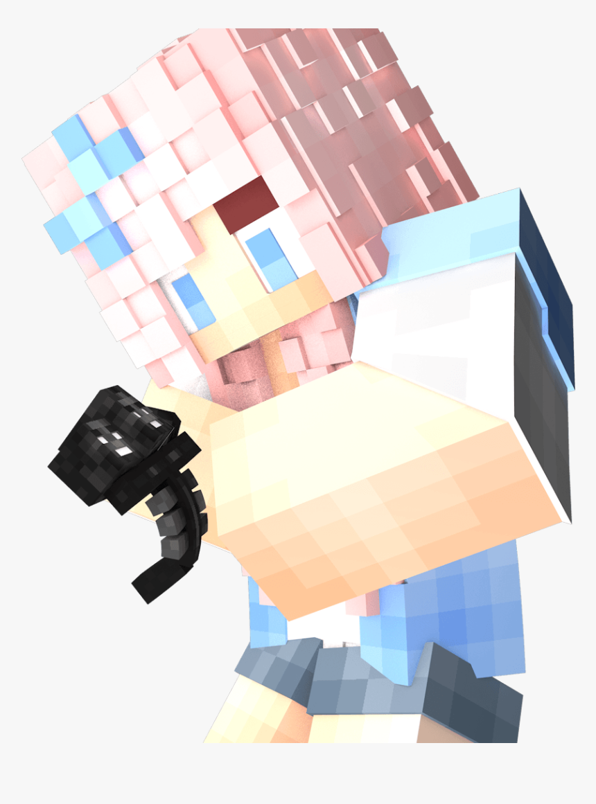 Transparent Minecraft Wallpaper Png Render Skin Fille Minecraft