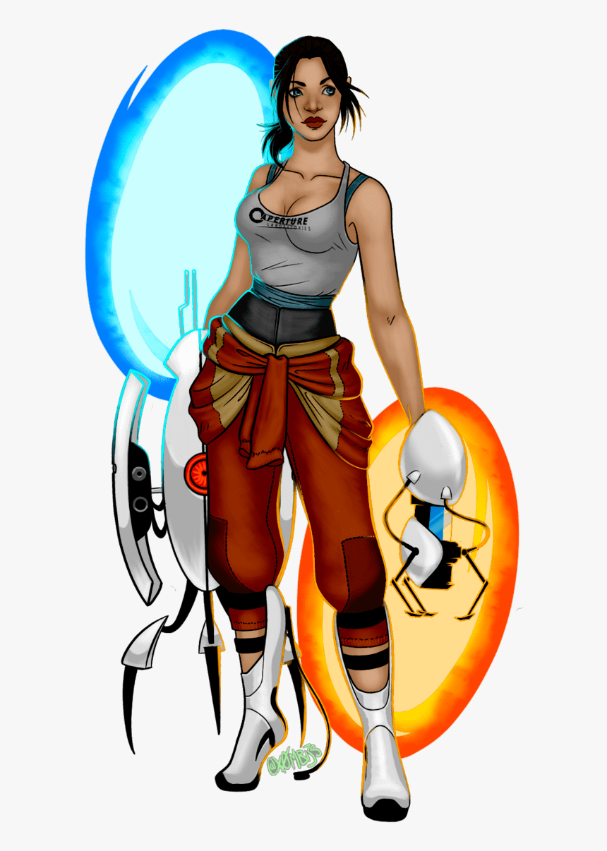 Chell Portal 2 Chell By X0mbi3s On Newgrounds Chell Portal