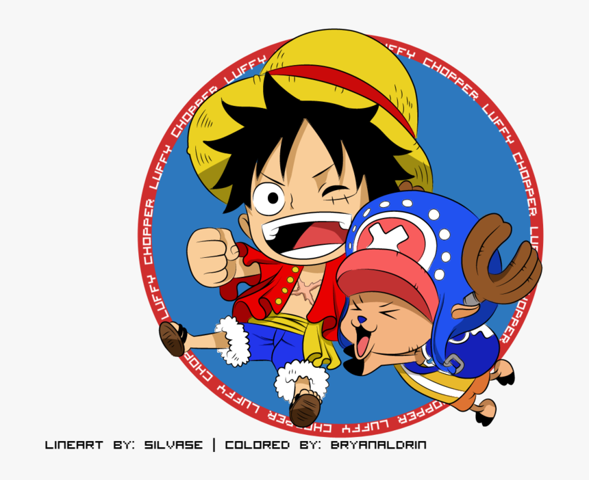 One Piece Wallpaper Called Luffy One Piece Luffy And Chopper Hd Png Download Transparent Png Image Pngitem