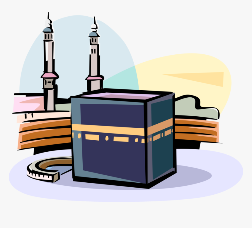 vector illustration of grand kaaba islam sacred mosque kaaba clipart hd png download transparent png image pngitem kaaba clipart hd png download