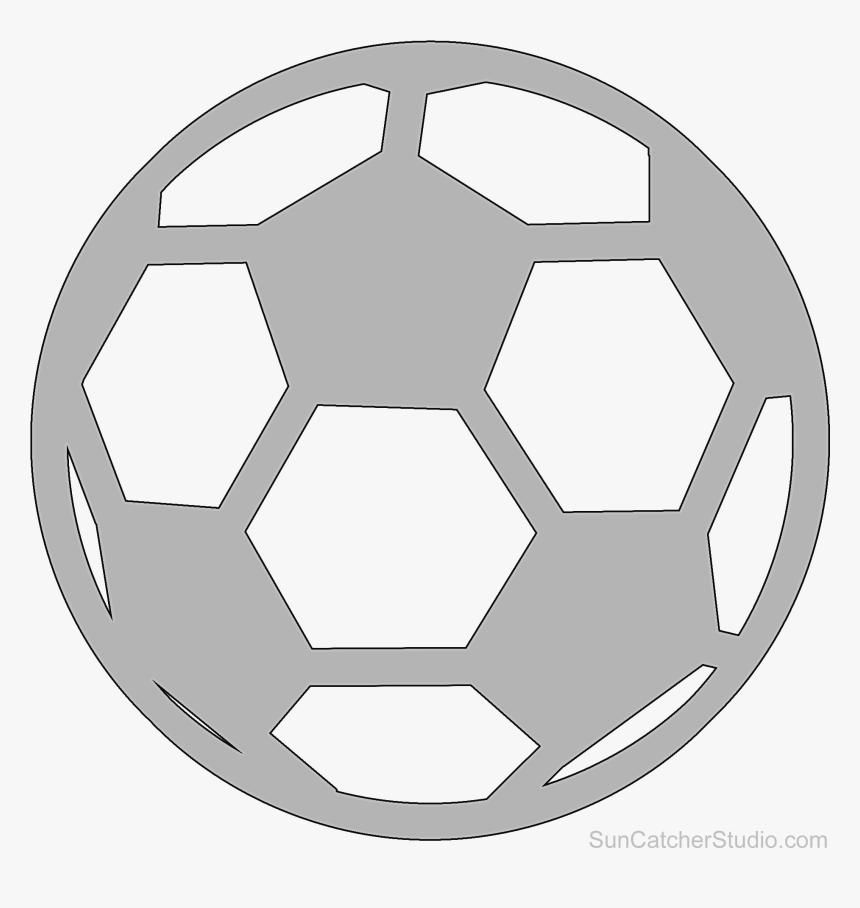 It is a picture of Soccer Ball Printable for sport