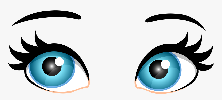 Clipart Of Audio Eyes And Art Equipment Transparent Background