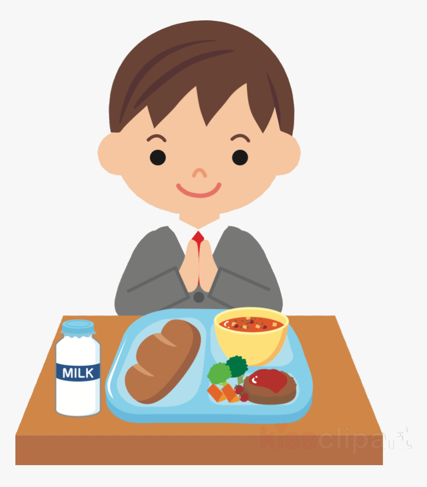Happy Kids Eating Dinner Together On Dining Table Royalty Free Cliparts,  Vectors, And Stock Illustration. Image 100518481.