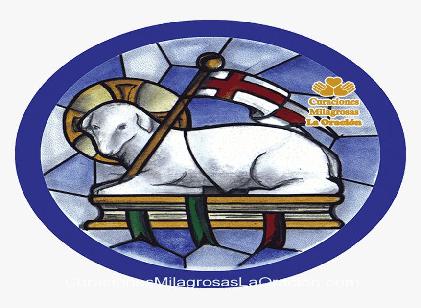 Oración Al Corderito Manso - Eucharist Symbols Lamb Of God, HD Png ...