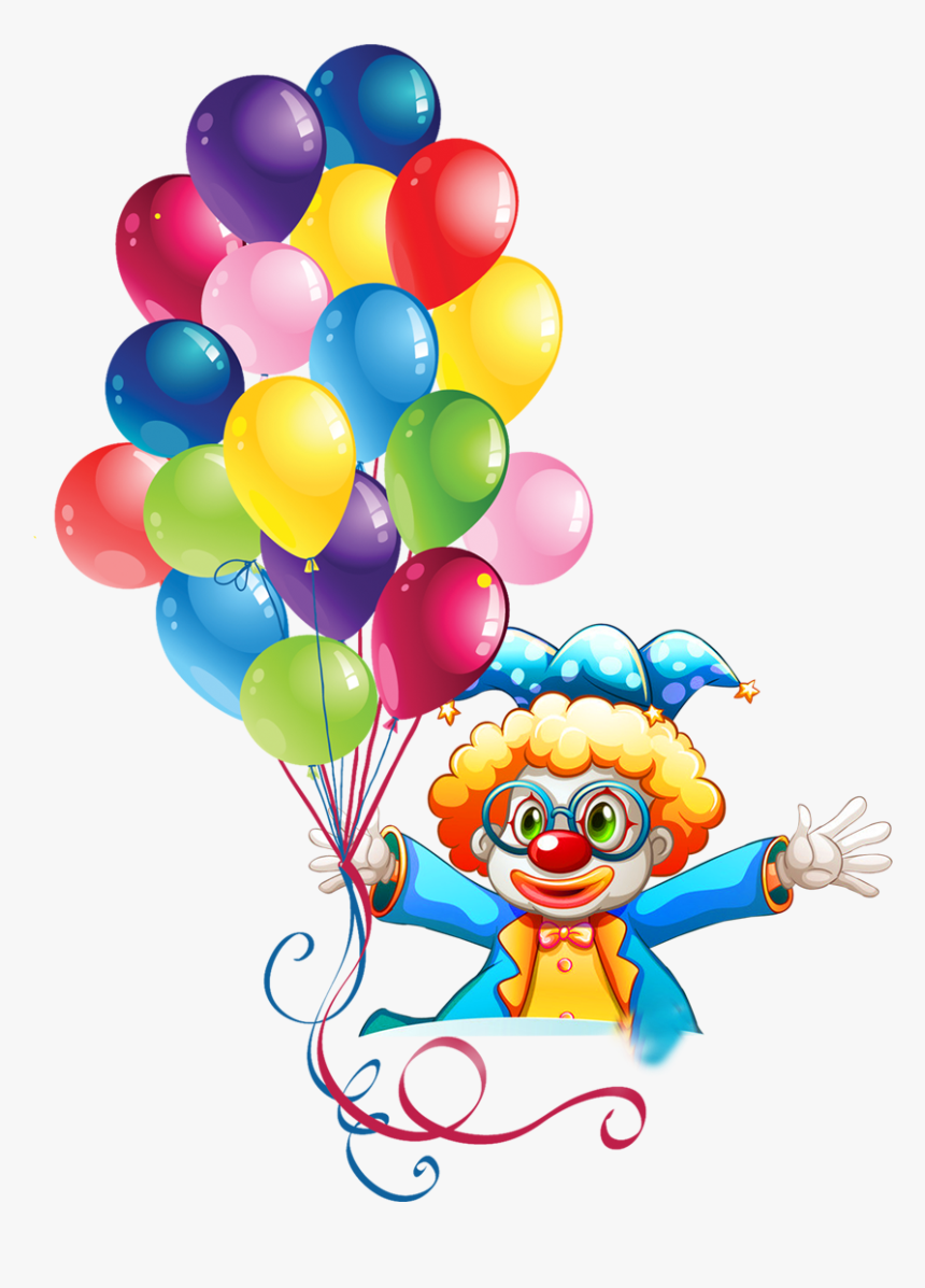 Transparent Clown Clipart Balloon Happy Birthday Clip Art Hd Png Download Transparent Png Image Pngitem