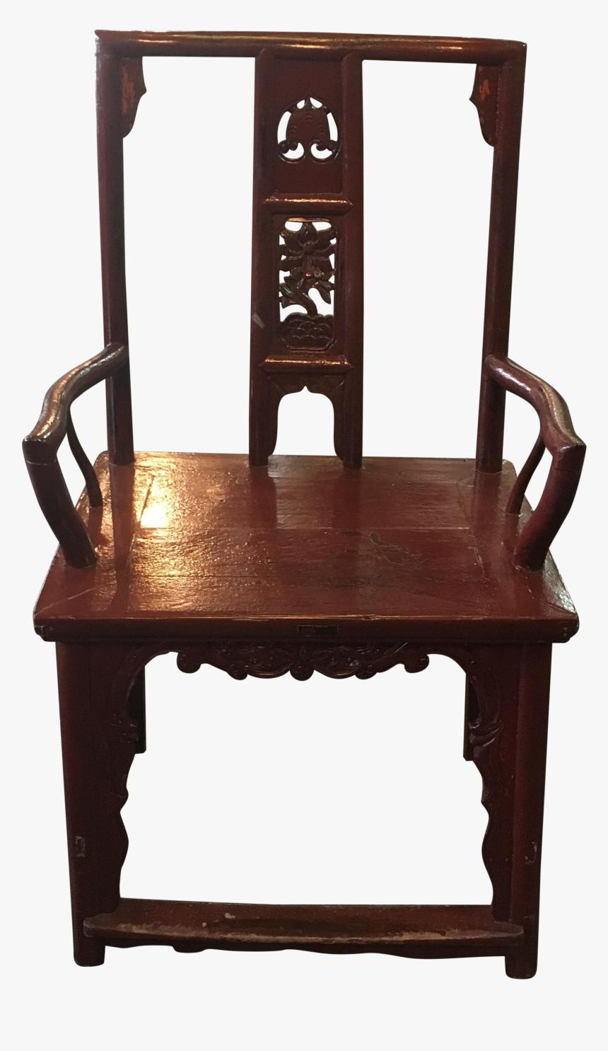 Elegant Old Chair Png Vintage
