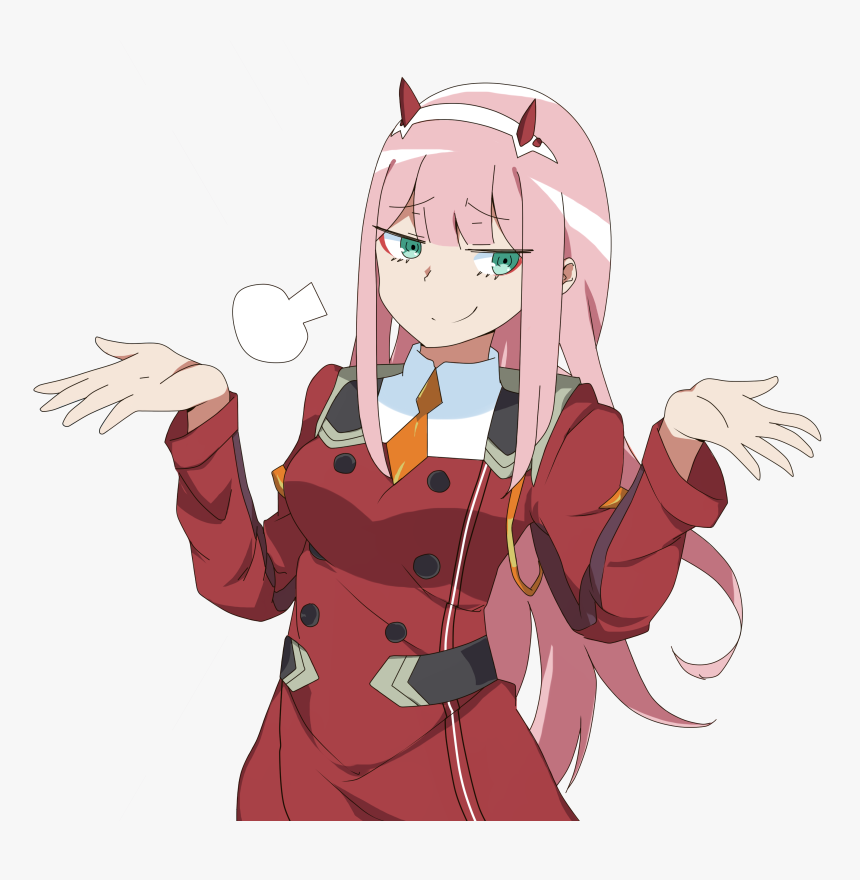 Zero Two Transparent Zero Two Transparent Background Hd Png Download Transparent Png Image Pngitem