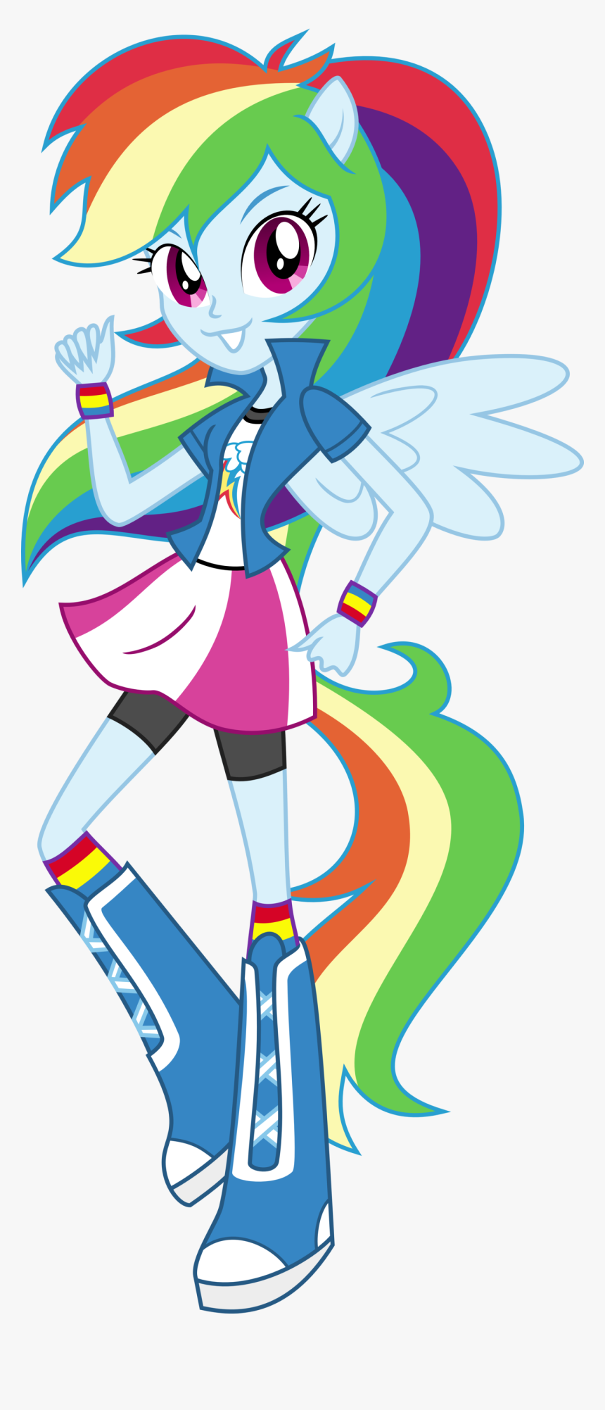 - Rainbow Dash Equestria Girl Pony Up, HD Png Download , Transparent