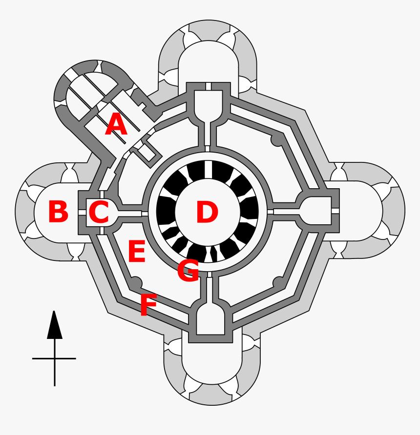 Camber Castle Floor Plan
