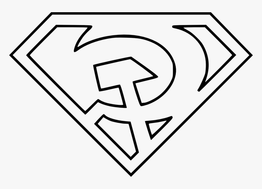 Superman Emblem Coloring Sheet  – Superman Logo Coloring Pages Coloring Home