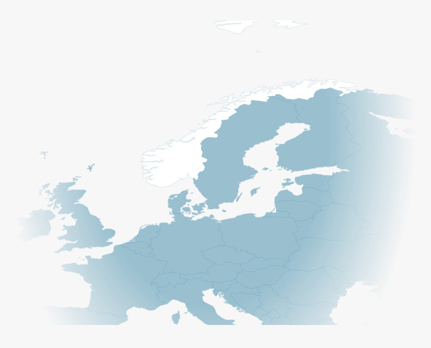 Norway - Iq Map Of Europe, HD Png Download , Transparent Png ...