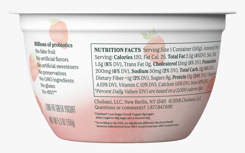 Chobani Less Sugar Greek Yogurt