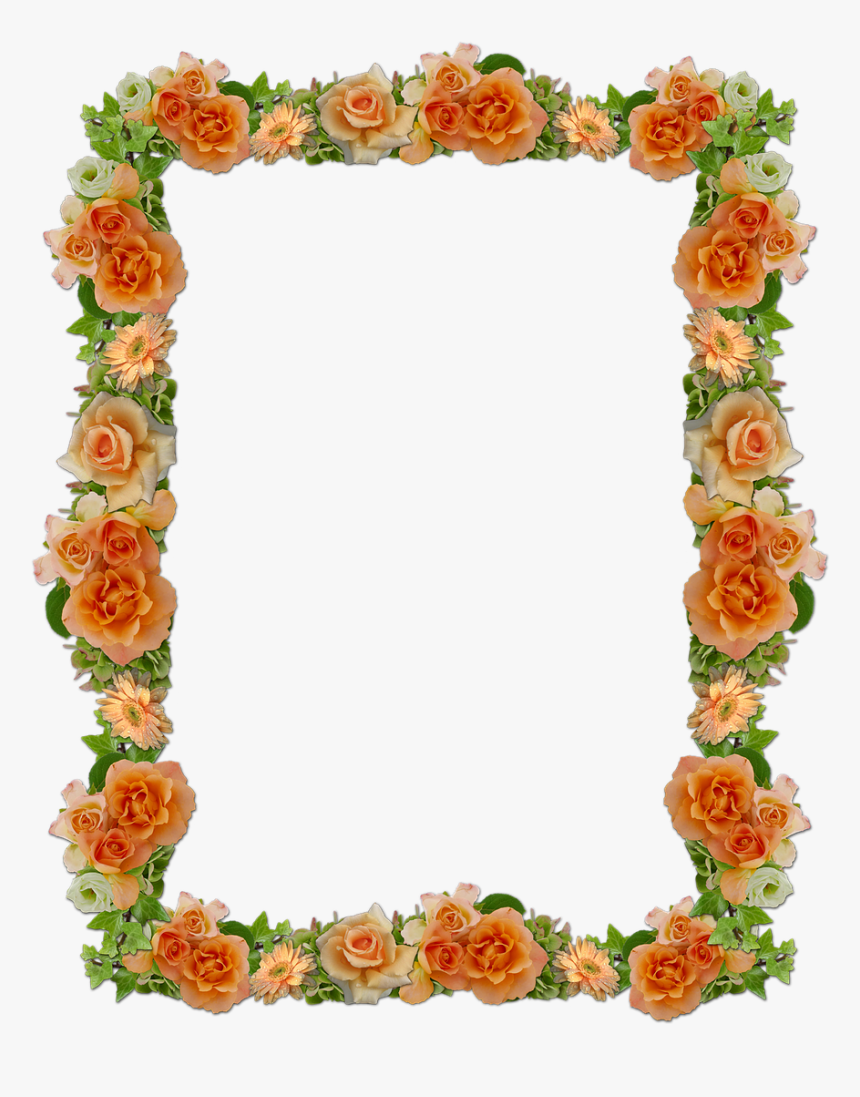 Frame Roses Wedding Free Photo Shradhanjali Photo Frame Png Transparent Png Transparent Png Image Pngitem