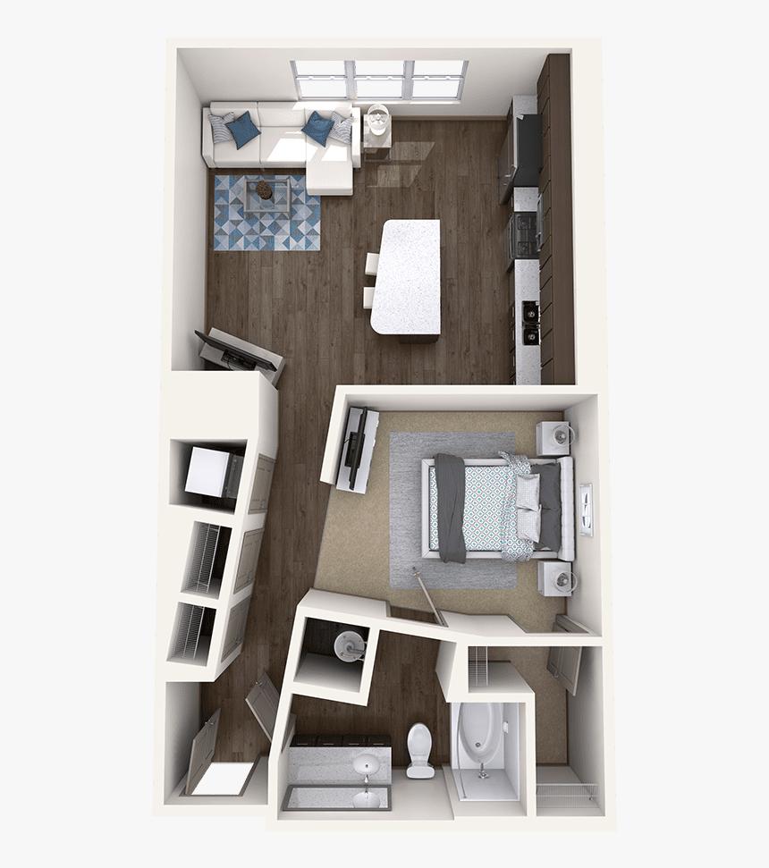 1 Bedroom Apartment Floor Plan Hd Png Download Transparent Png Image Pngitem
