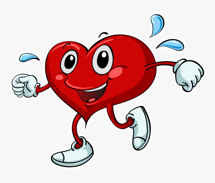Healthy Heart Cartoon Png Png Download Heart Exercise Clipart Transparent Png Transparent Png Image Pngitem
