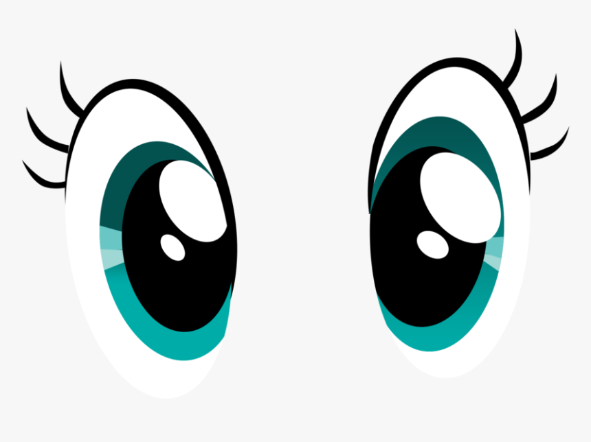 Cute Eye Cartoon - Cartoon Eyes And Nose, HD Png Download ...