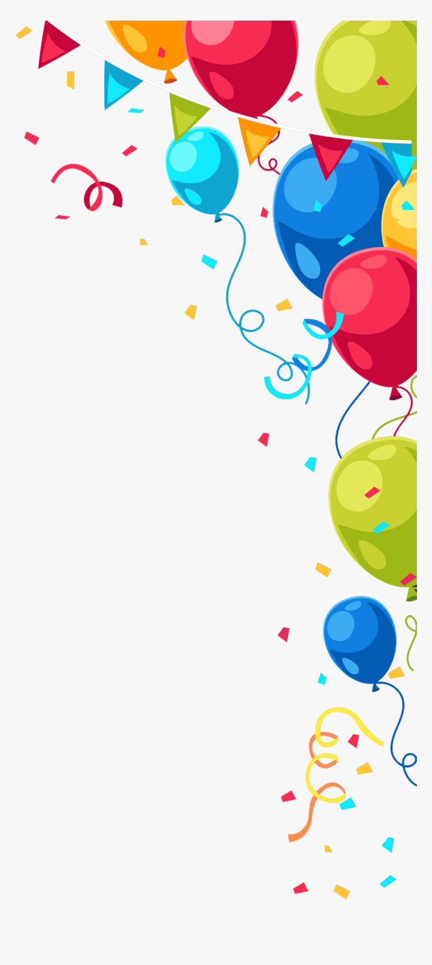 Birthday Png - - Happy Birthday Balloon Png, Transparent ...