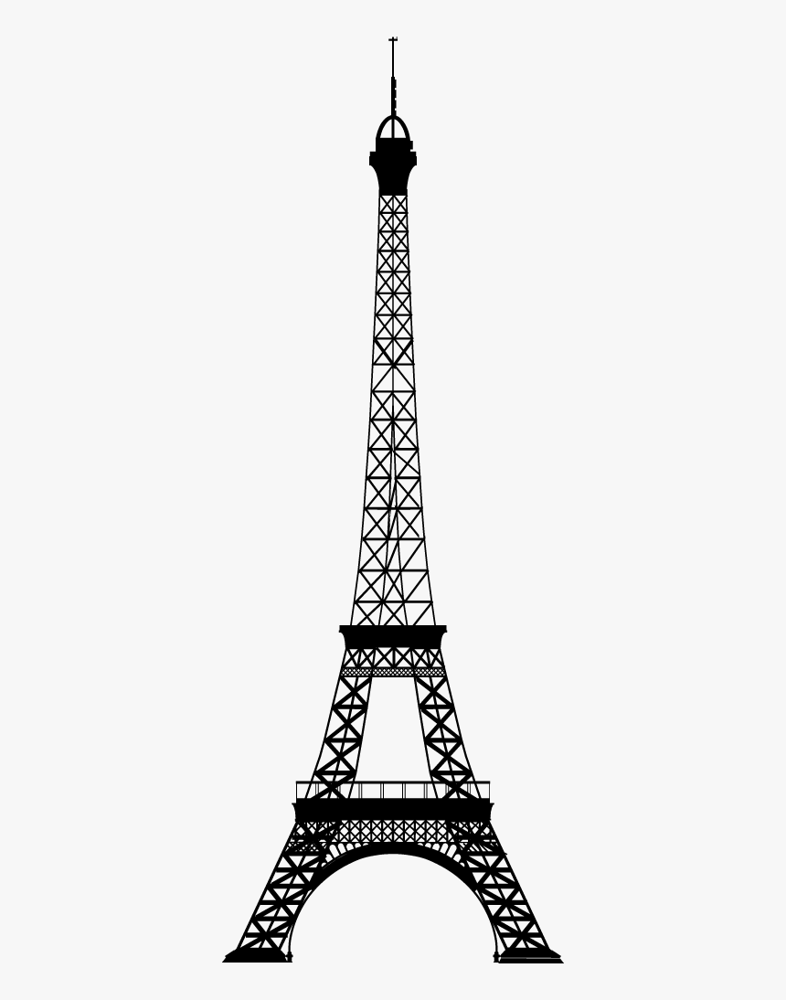Gambar Sketsa Menara Eiffel HD Download Transparent