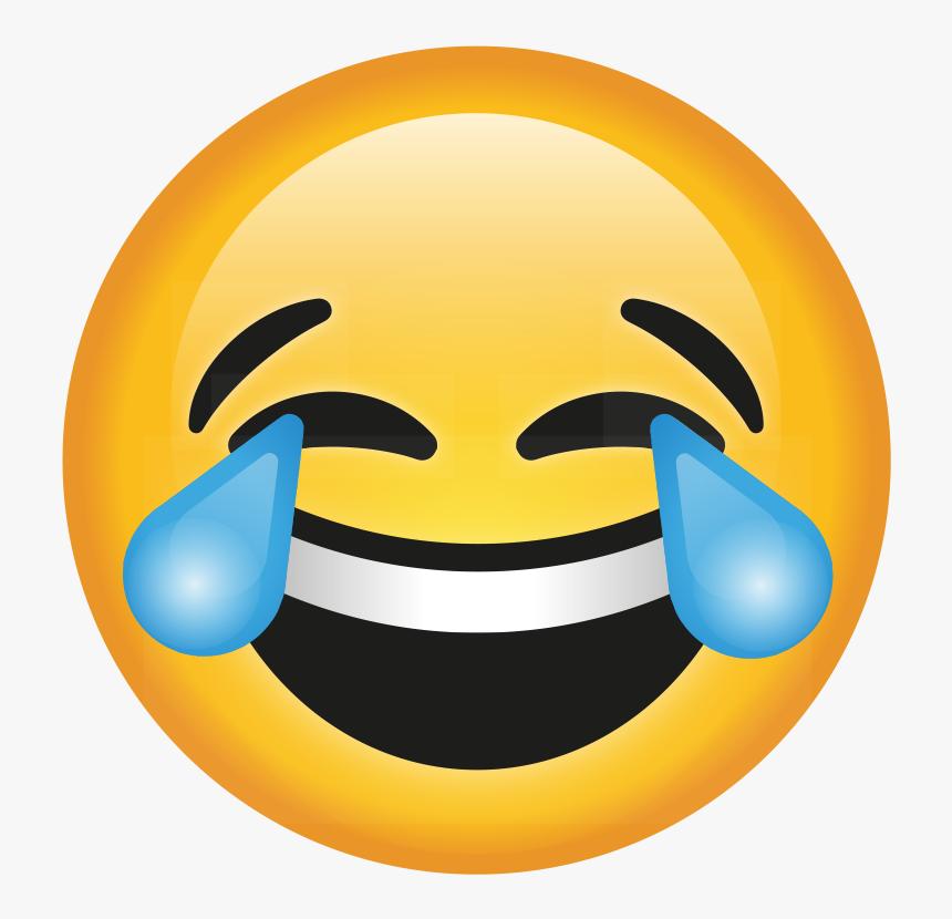 Transparent Crying Laughing Emoji Png - Crying Laughing ...