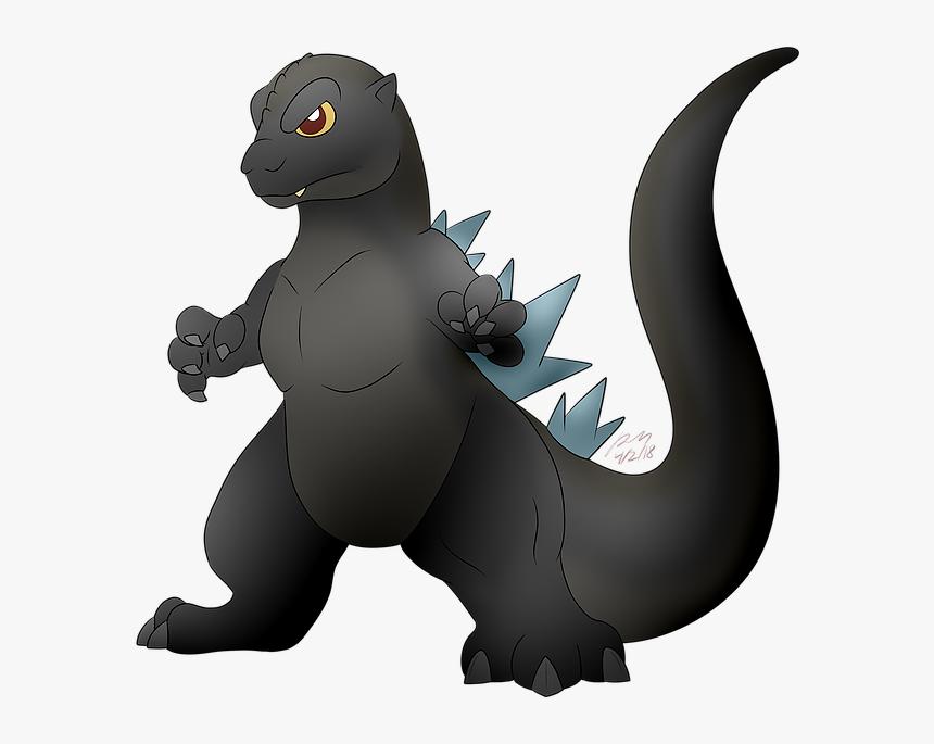 Drawing Godzilla Emo Godzilla Cartoon Drawing Lil Hd Png Download Transparent Png Image Pngitem