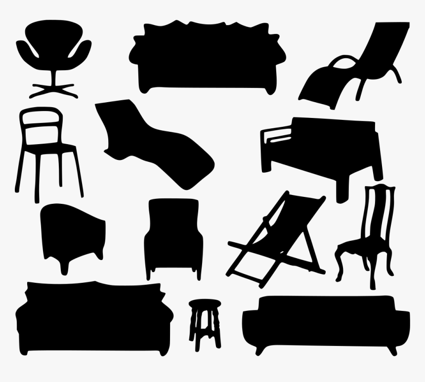 Sofa Clipart Home Furniture Furniture Clipart Black And