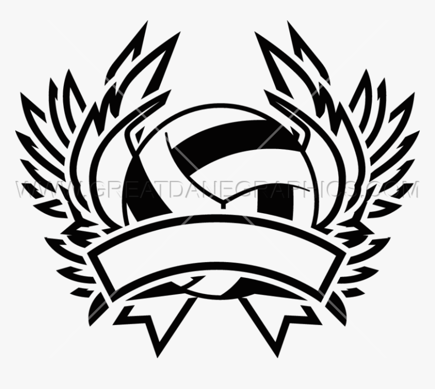 Volleyball Logo Design Png Transparent Png Transparent Png