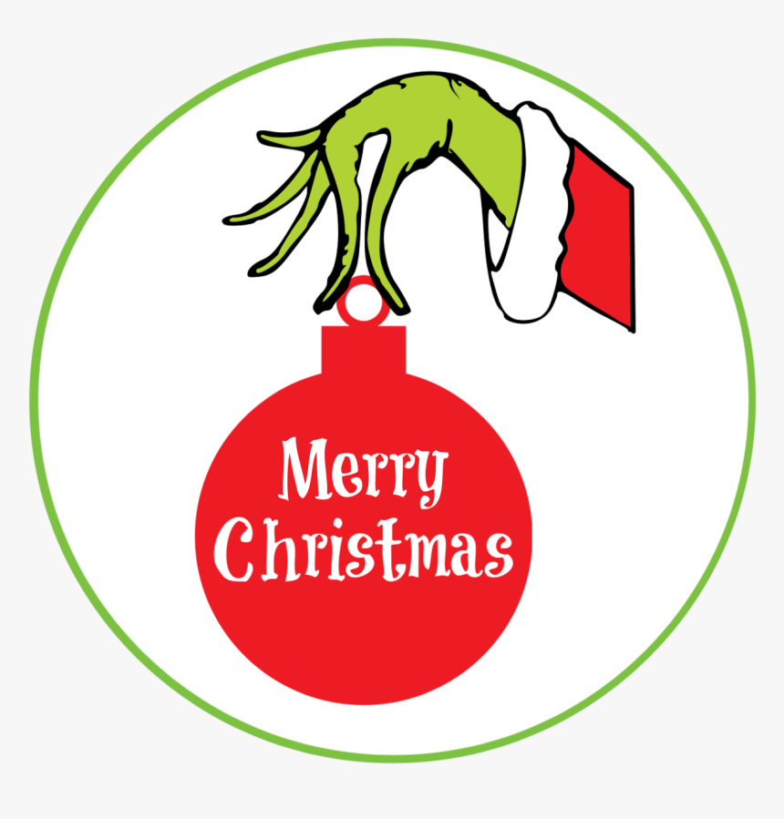 Grinch Gift Tags - Days Until Christmas