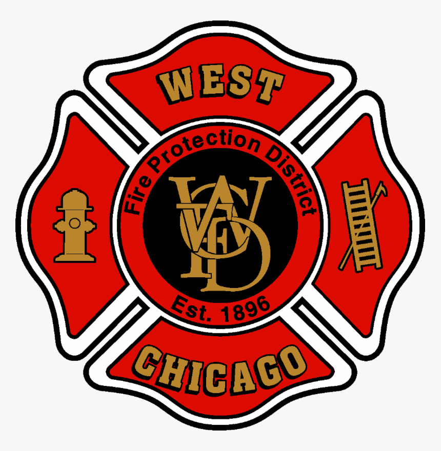West Chicago Fire Department Logo Hd Png Download Transparent