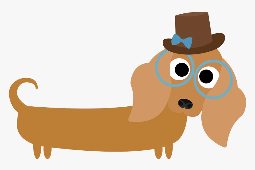 Weenie Dog Cartoon Clipart