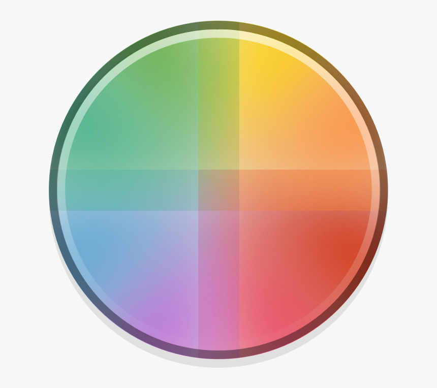 Color Wheel Gambar Bulat Warna Warni