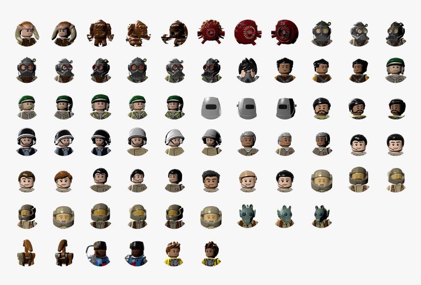Character Icons Lego Star Wars The Complete Saga Texture