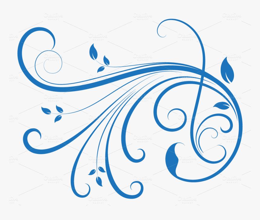 Swirl Png Download Transparent Swirl Design Blue Png Download Transparent Png Image Pngitem