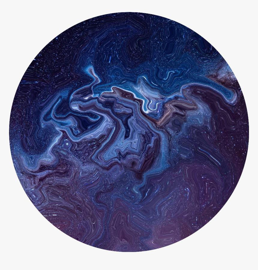 Interesting Art Grunge Galaxy Swirl Background Dark Blue