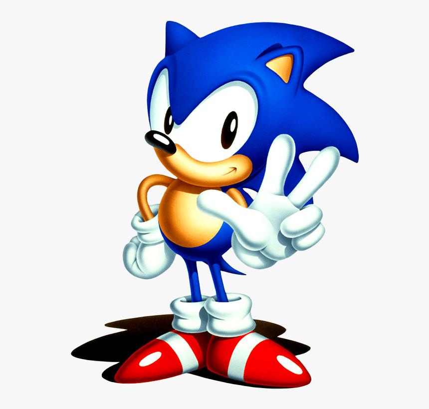 Classic Sonic Hd Png Download Transparent Png Image Pngitem
