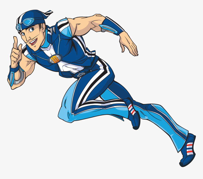 The Most Racist Cartoon Ever Sportacus Lazy Town Cartoon Hd Png Download Transparent Png Image Pngitem