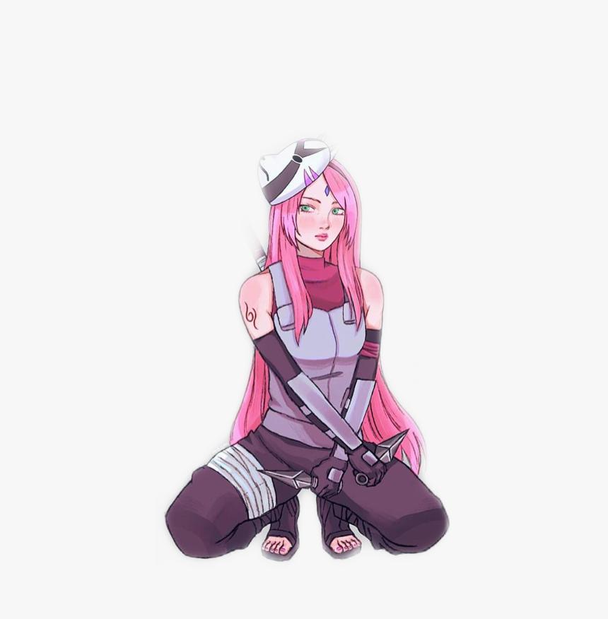 Sakura Naruto Anbu Freetoedit Sakura Haruno Anbu Art Hd Png Download Transparent Png Image Pngitem