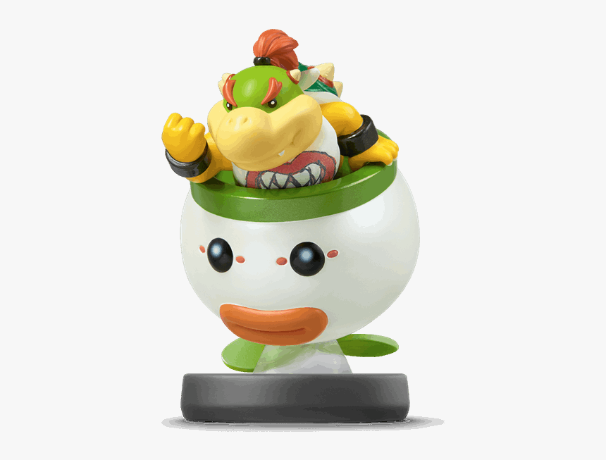 Smash Bros Amiibo Bowser Jr Hd Png Download Transparent
